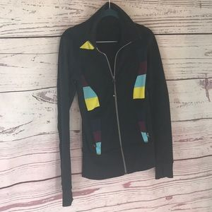 Lululemon full zip track jacket